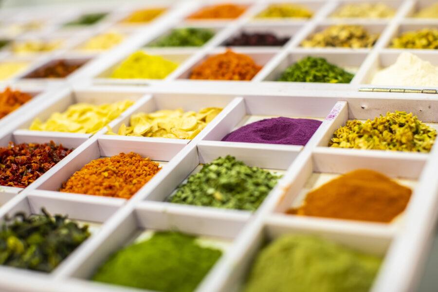 żywność bio barwiąca